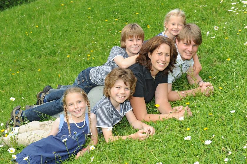 Familienbild Schweiz