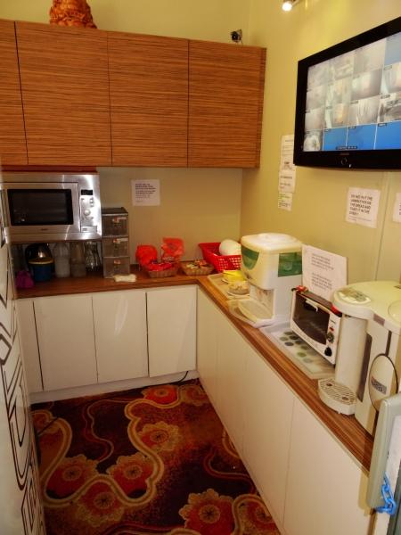 5.0-Hostel-Küche